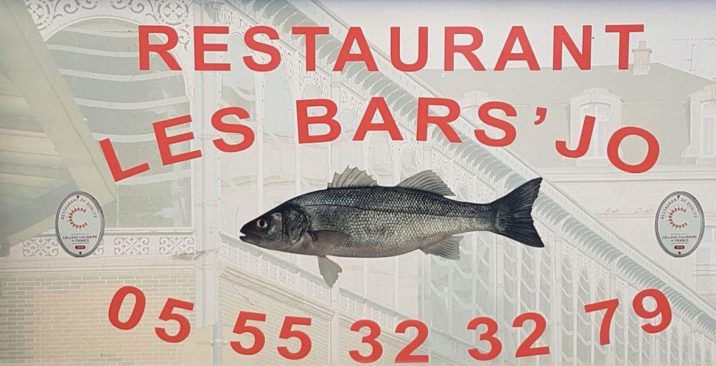 Baches annonce 1.5x1 m JA ISLE 2018+20cm fourreau-LES BARS JO